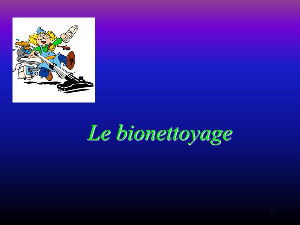 Le bionettoyage