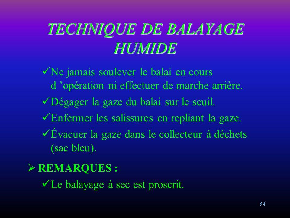 TECHNIQUE DE BALAYAGE HUMIDE