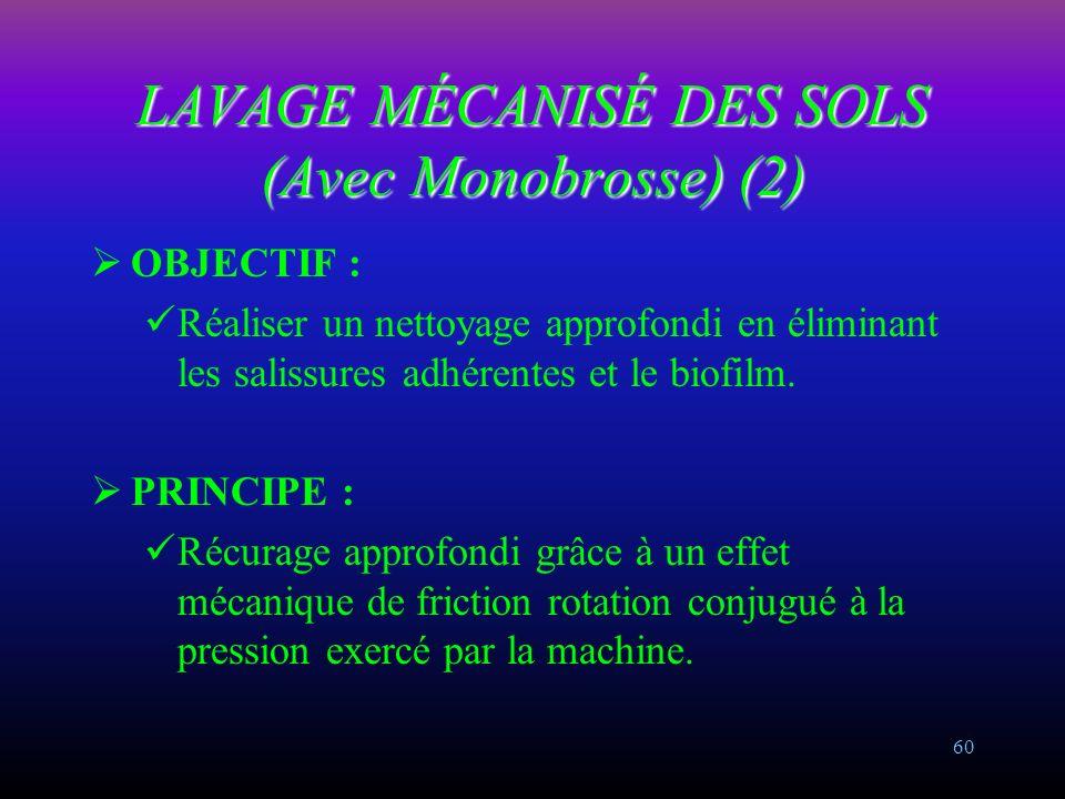 LAVAGE MÉCANISÉ DES SOLS (Avec Monobrosse) (2)