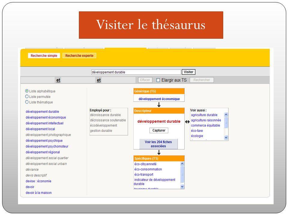 Visiter le thésaurus Visiterle thésaurus.