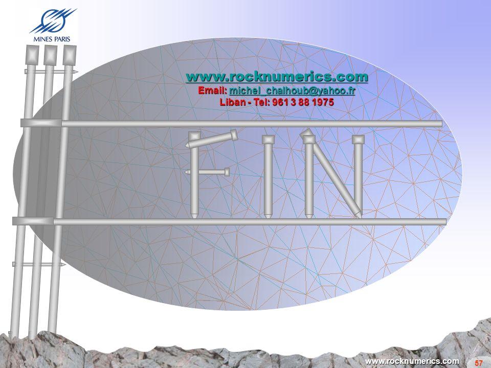 www.rocknumerics.com Email: michel_chalhoub@yahoo.fr Liban - Tel: 961 3 88 1975