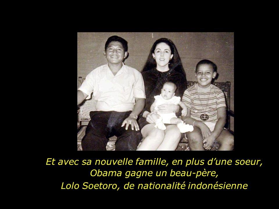 Lolo Soetoro, de nationalité indonésienne