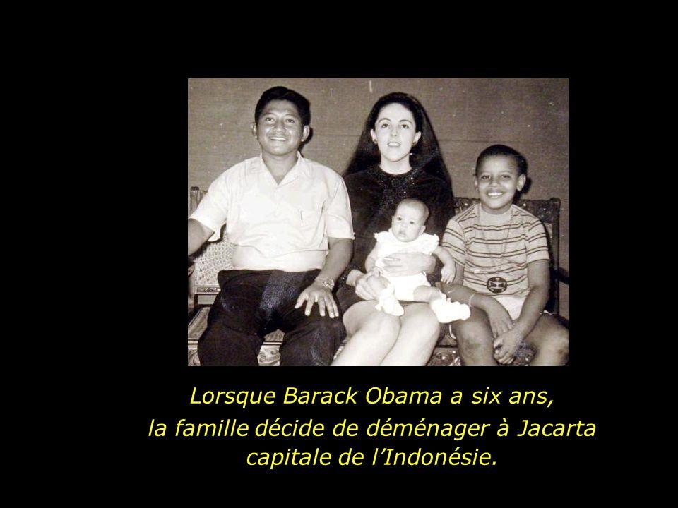 Lorsque Barack Obama a six ans,