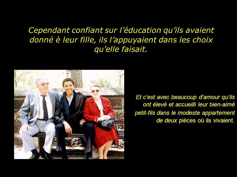 Cependant confiant sur l'éducation qu'ils avaient donné è leur fille, ils l'appuyaient dans les choix qu'elle faisait.