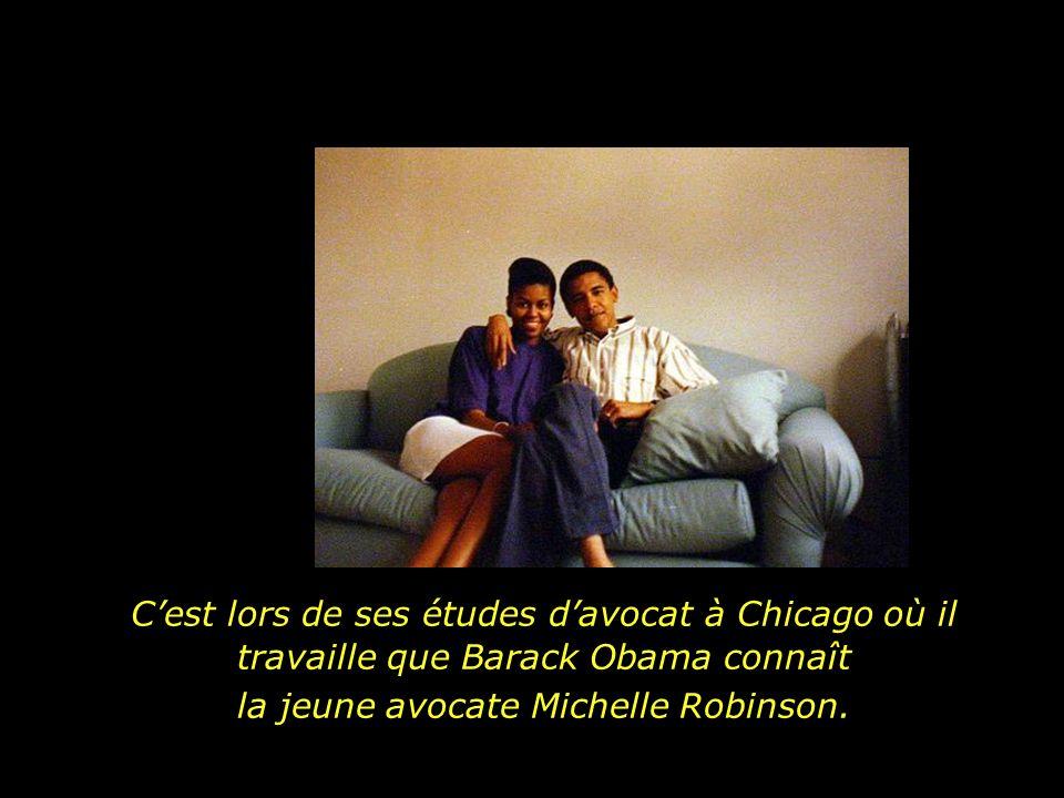 la jeune avocate Michelle Robinson.
