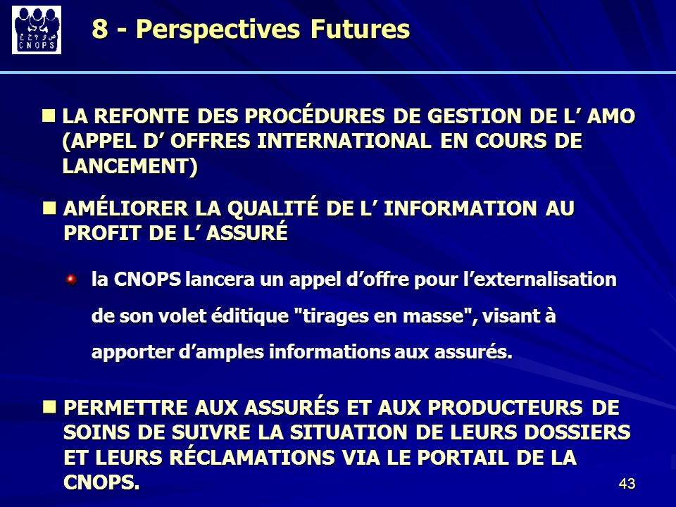 8 - Perspectives Futures
