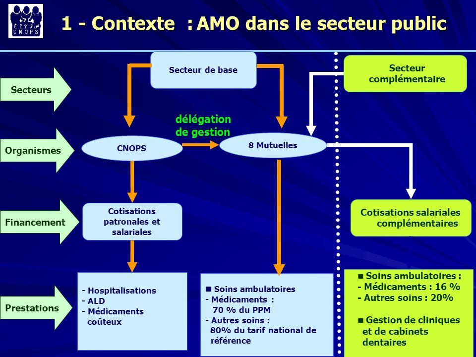 1 - Contexte : AMO dans le secteur public
