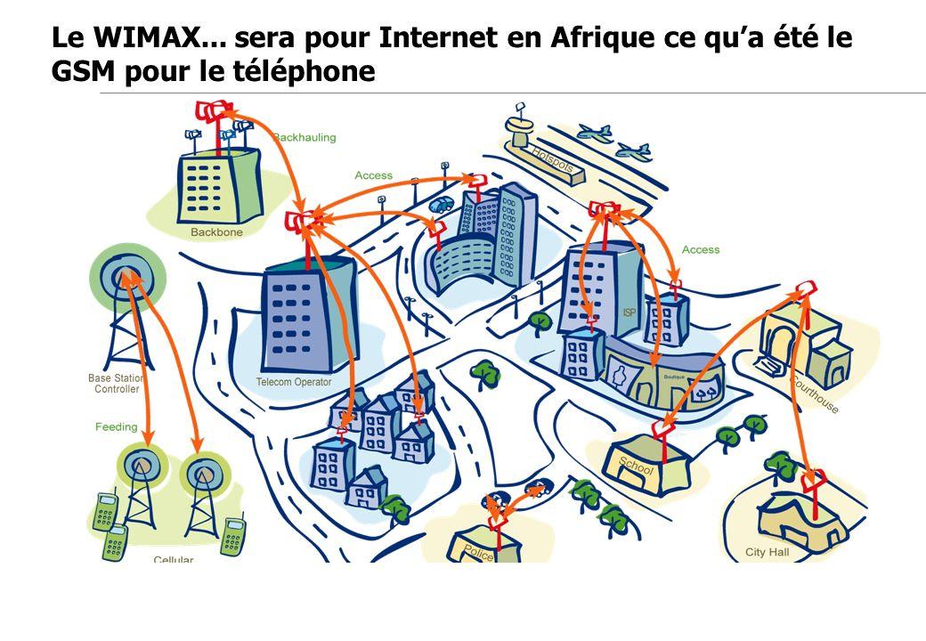 Le WIMAX... sera pour Internet en Afrique ce qu'a été le GSM pour le téléphone
