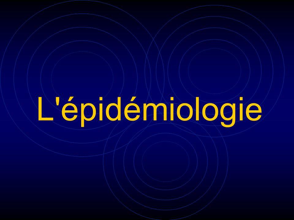 L épidémiologie