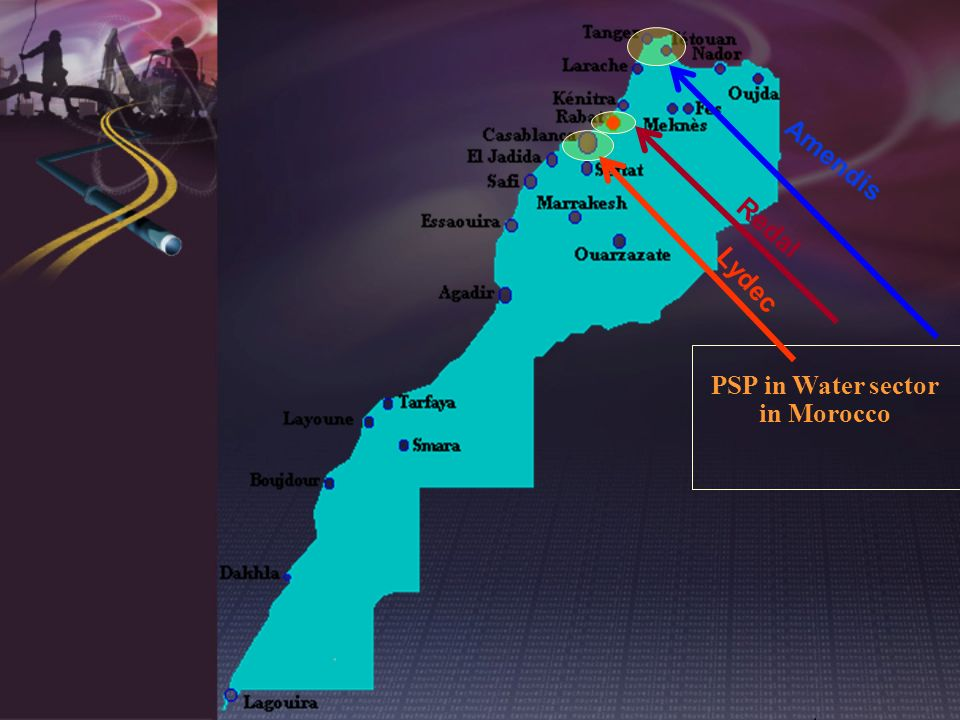 PSP in Water sector in Morocco