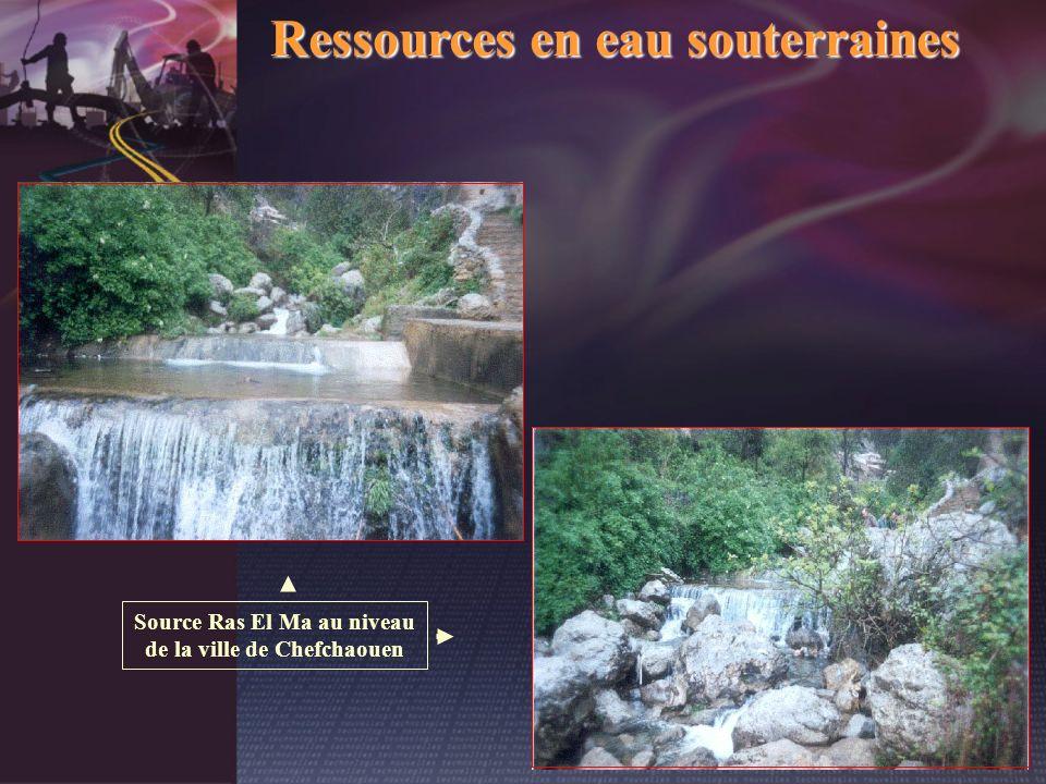 Source Ras El Ma au niveau de la ville de Chefchaouen