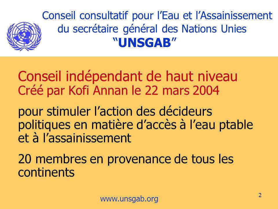 Conseil indépendant de haut niveau