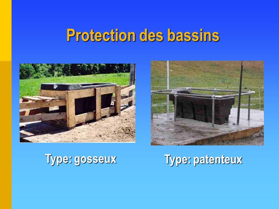 Protection des bassins