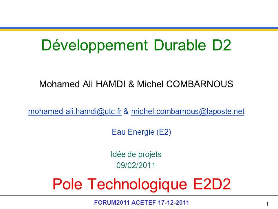 Développement Durable D2