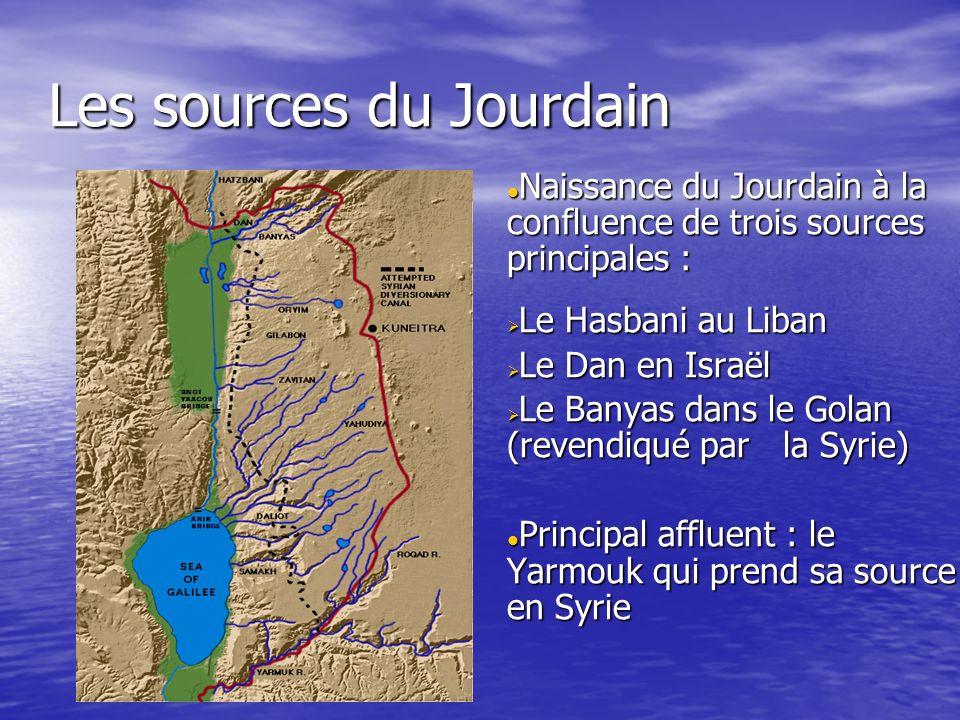 Les sources du Jourdain