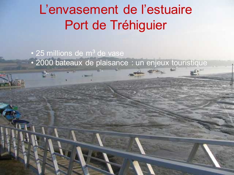 L'envasement de l'estuaire