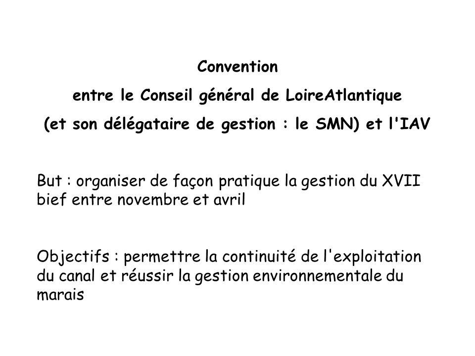 entre le Conseil général de LoireAtlantique