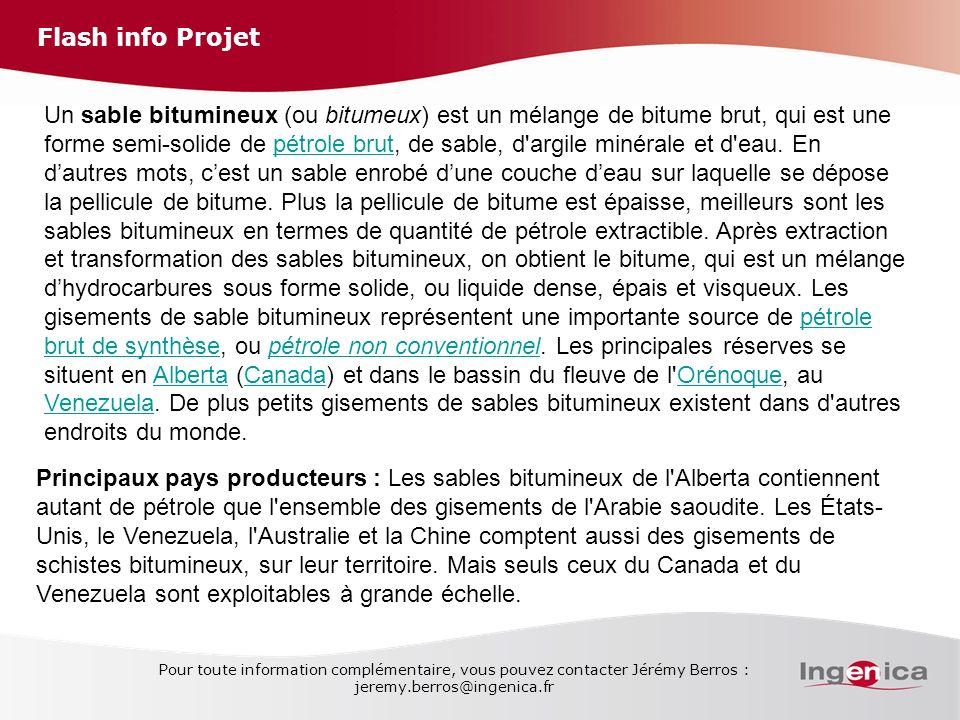 Flash info Projet