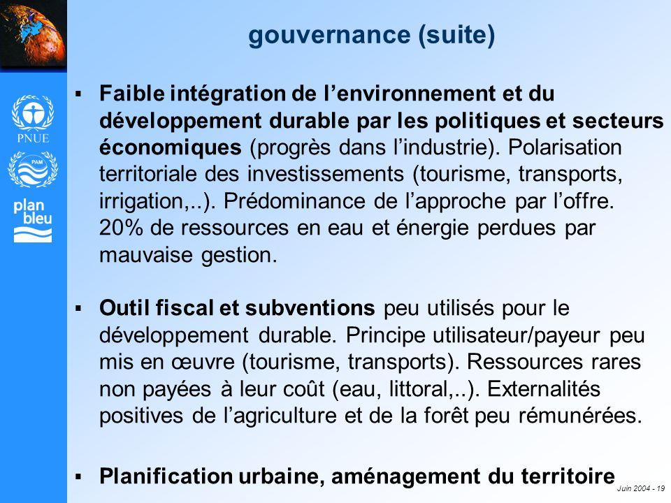 gouvernance (suite)