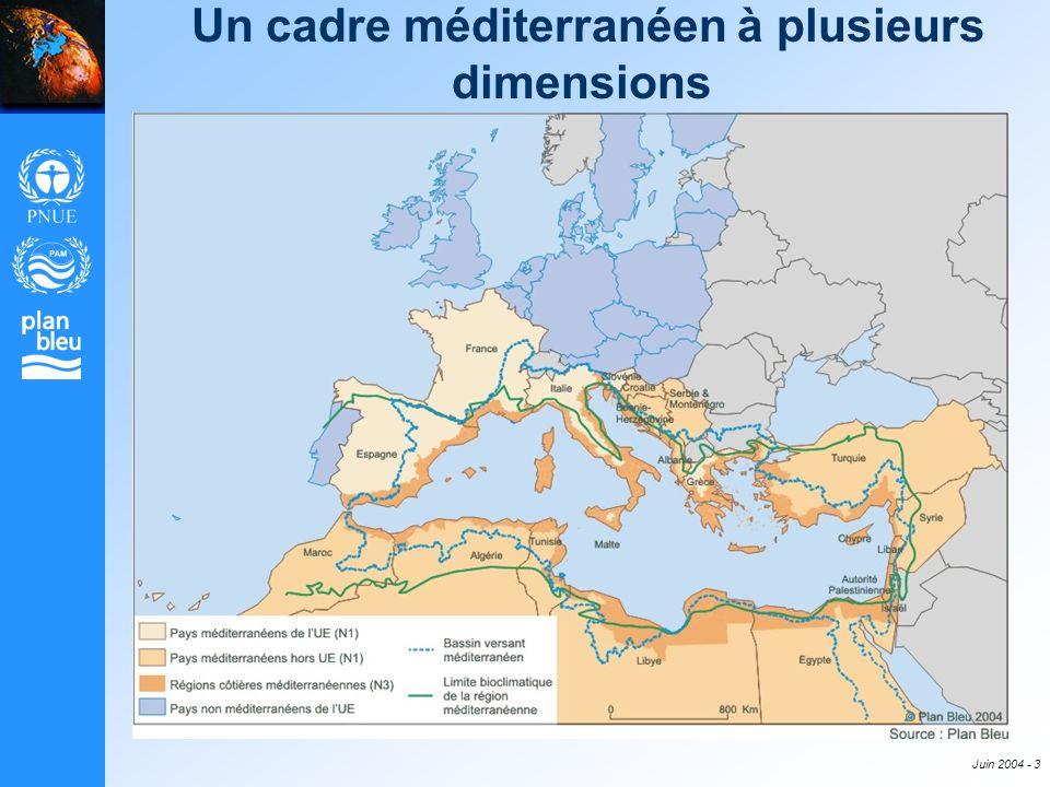 Un cadre méditerranéen à plusieurs dimensions