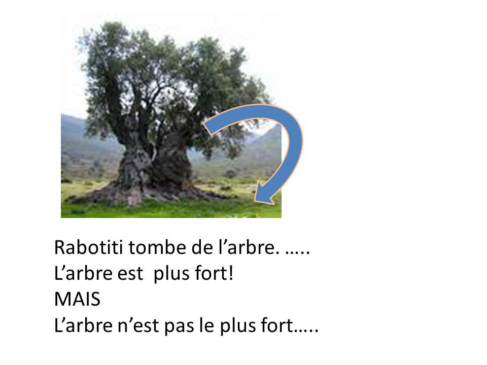Rabotiti tombe de l'arbre. …..