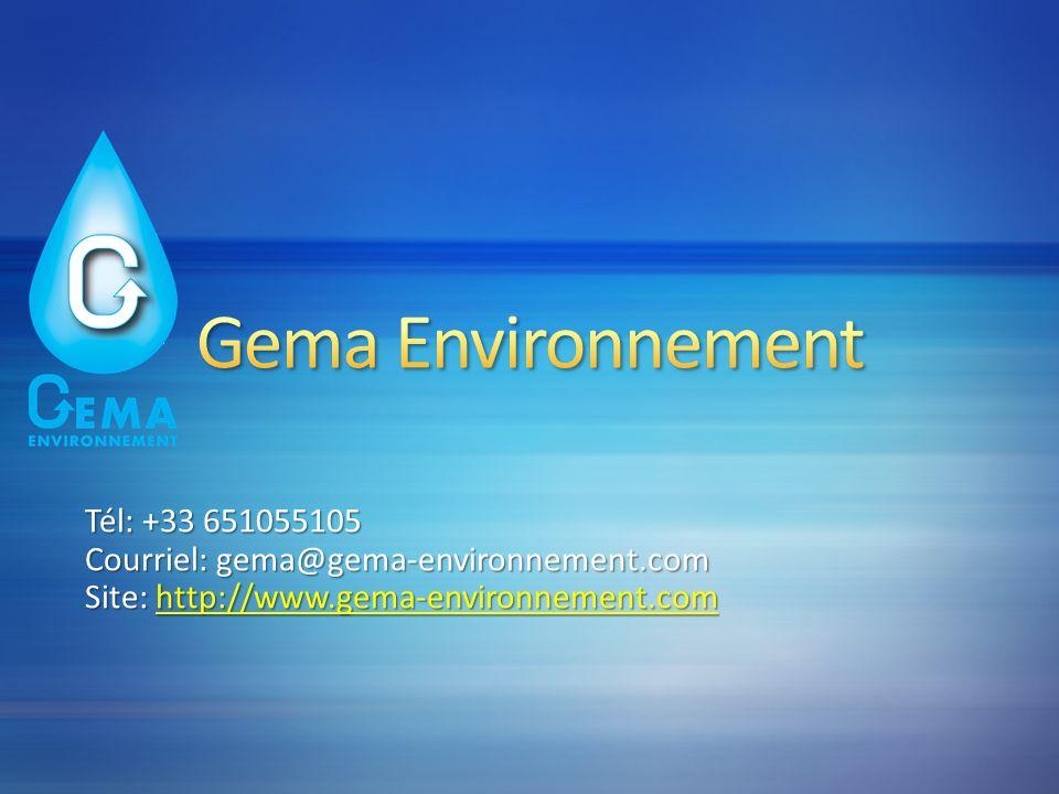 Gema Environnement Tél: +33 651055105