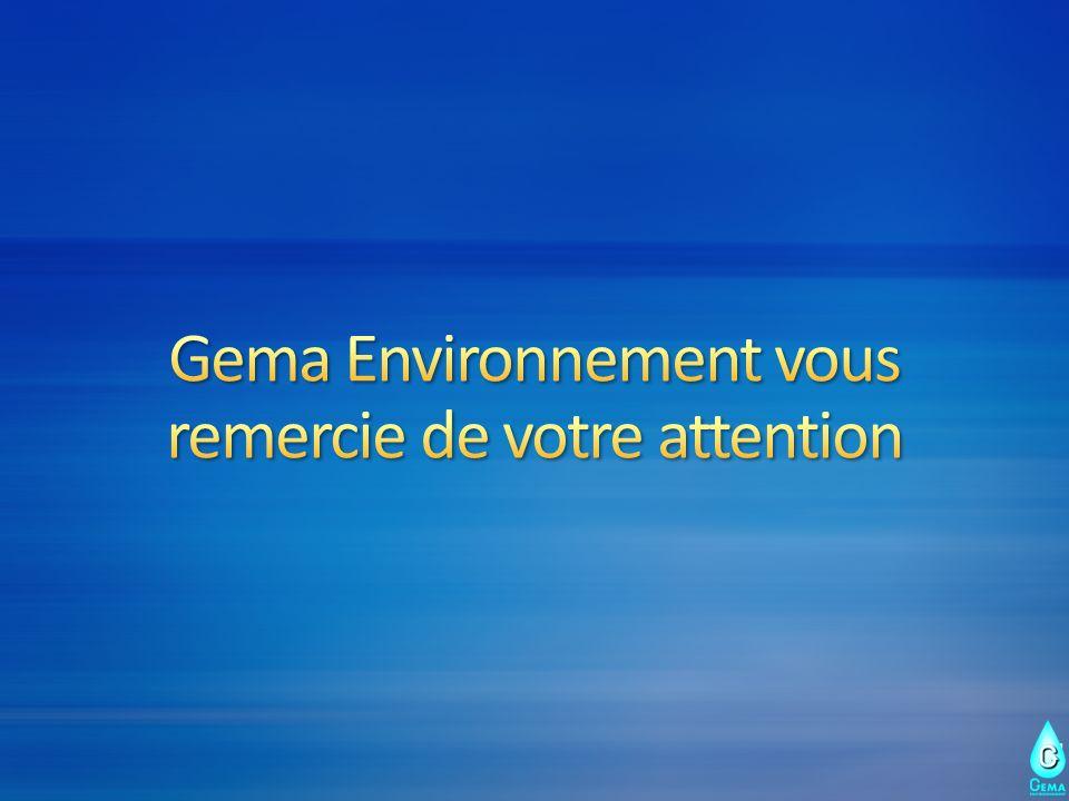 Gema Environnement vous remercie de votre attention