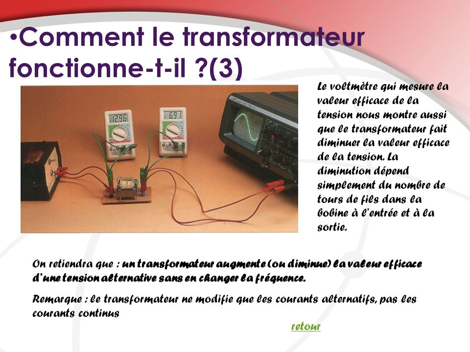 Comment le transformateur fonctionne-t-il (3)
