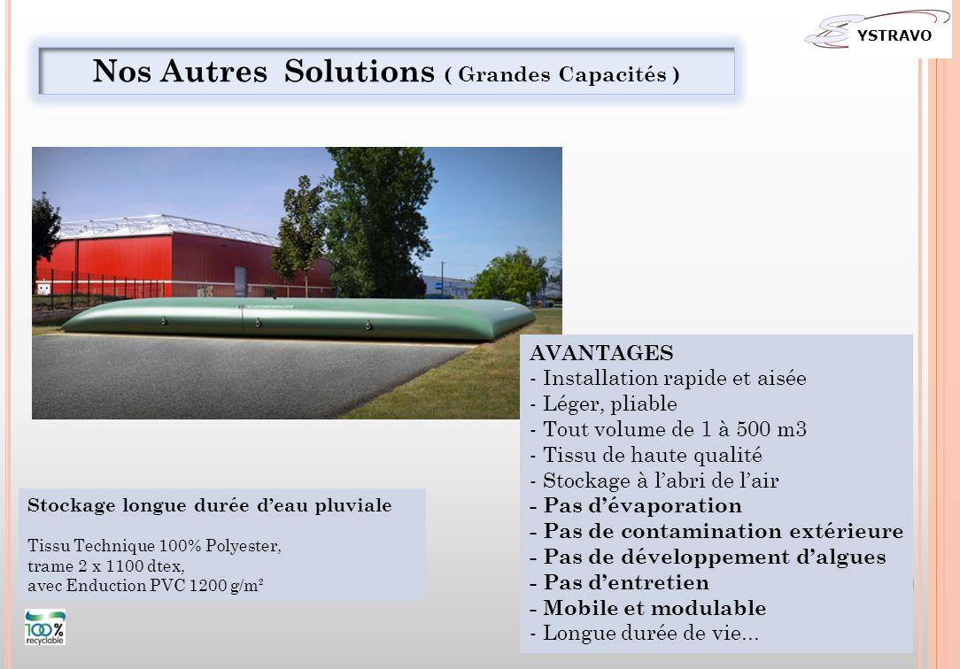 Nos Autres Solutions ( Grandes Capacités )