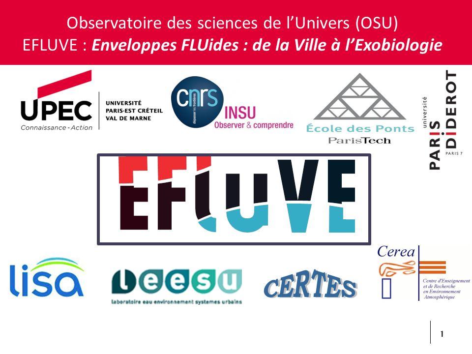 CERTES Observatoire des sciences de l'Univers (OSU)