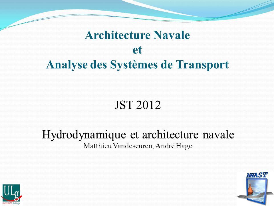 Architecture Navale et Analyse des Systèmes de Transport