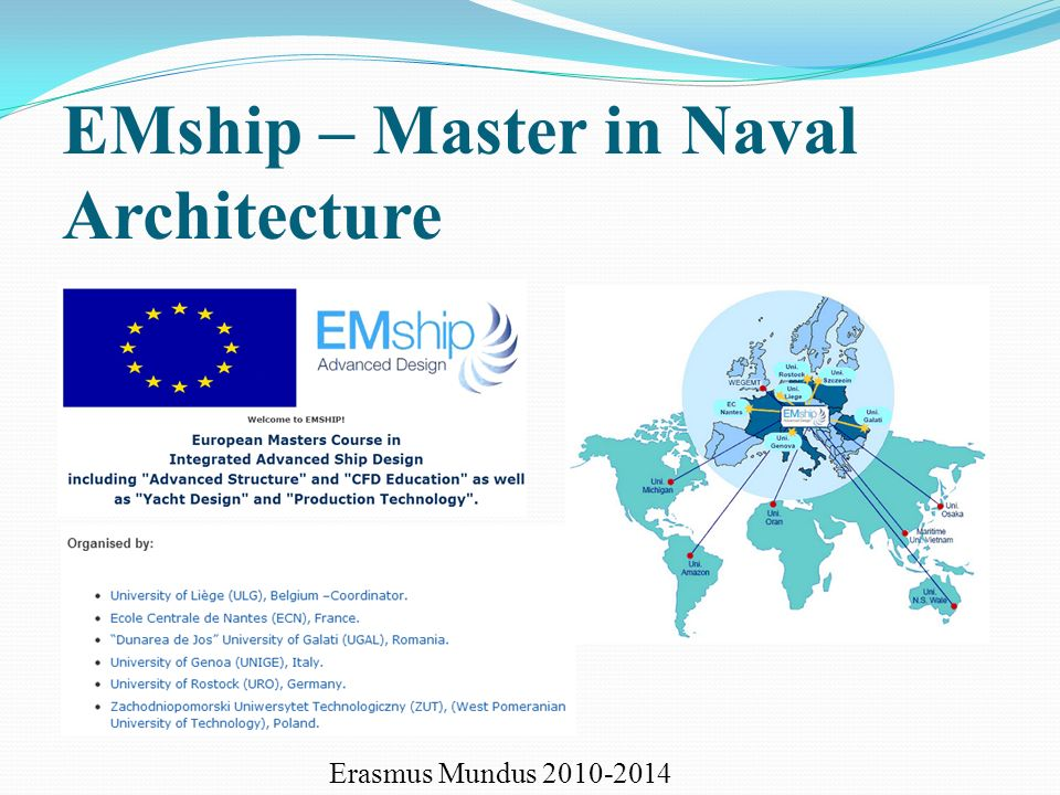 EMship – Master in Naval Architecture