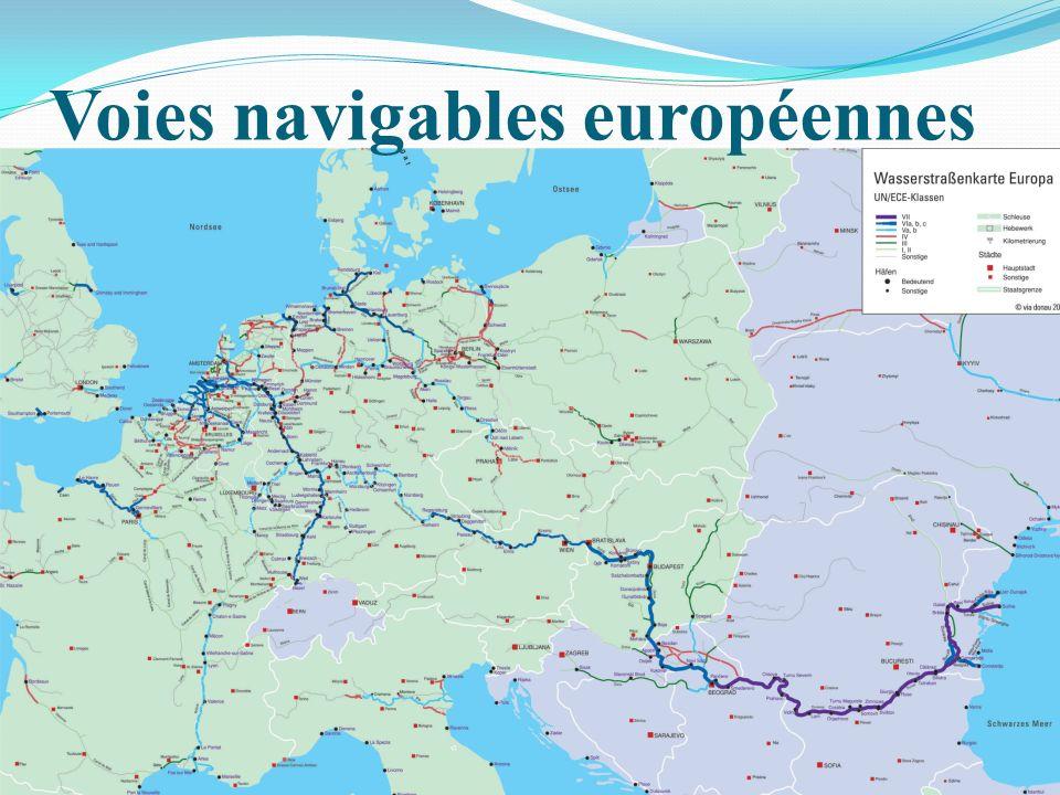 Voies navigables européennes