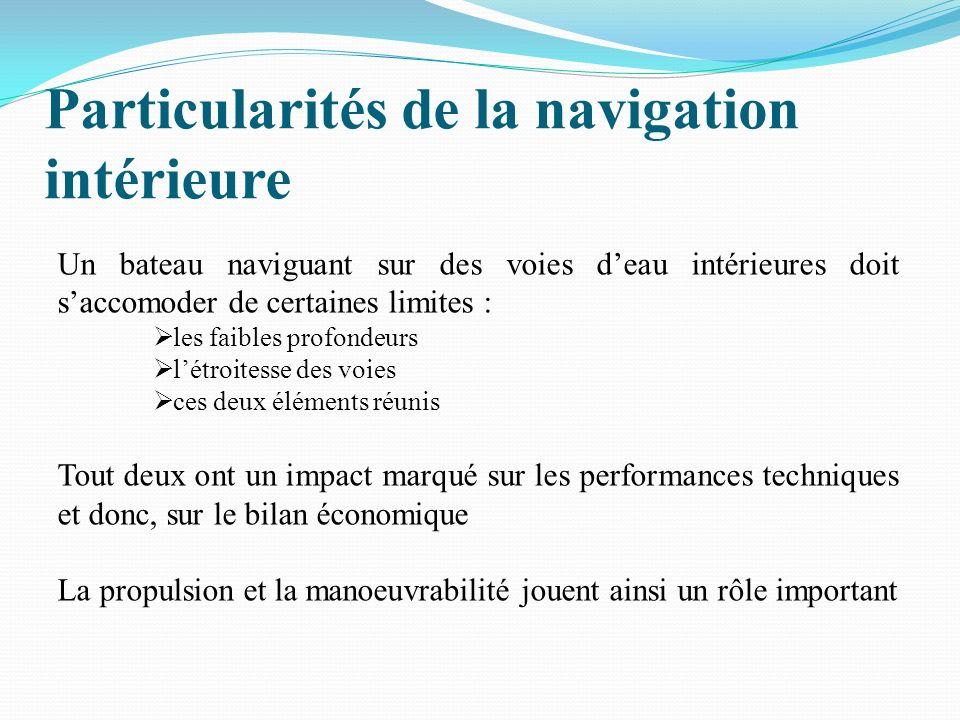 Particularités de la navigation intérieure