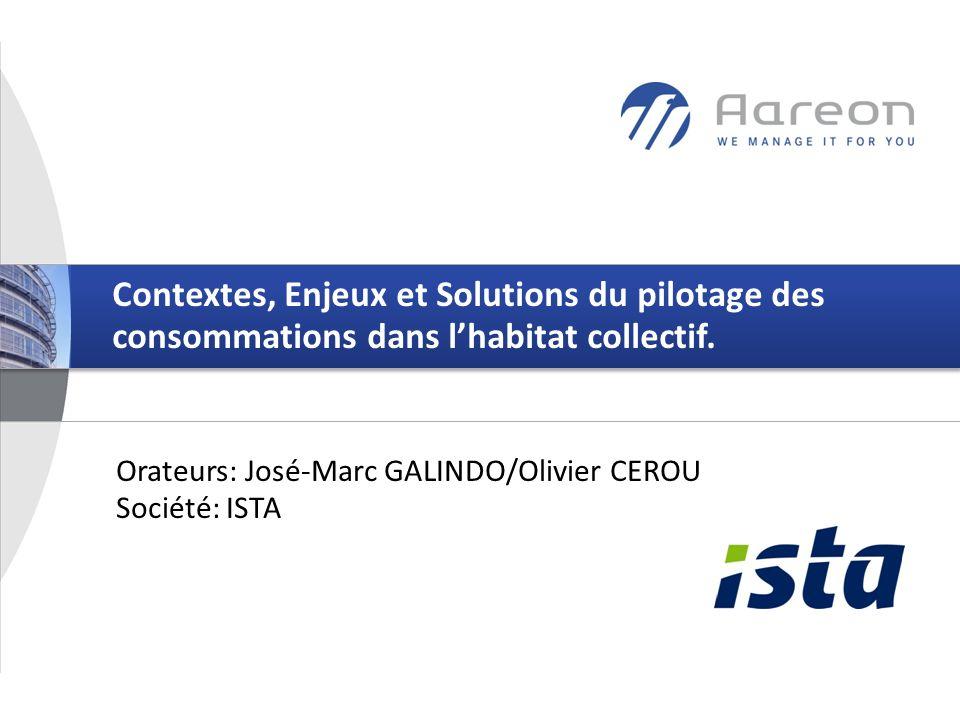 Contextes, Enjeux et Solutions du pilotage des consommations dans l'habitat collectif.