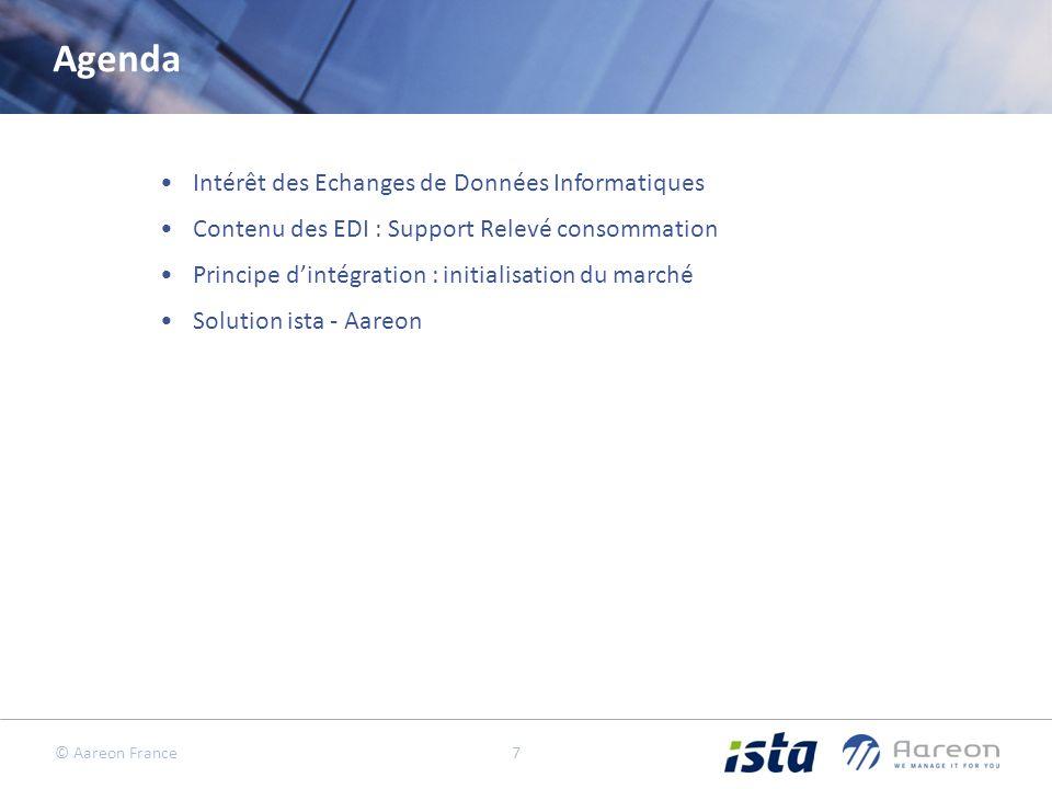 Agenda Intérêt des Echanges de Données Informatiques