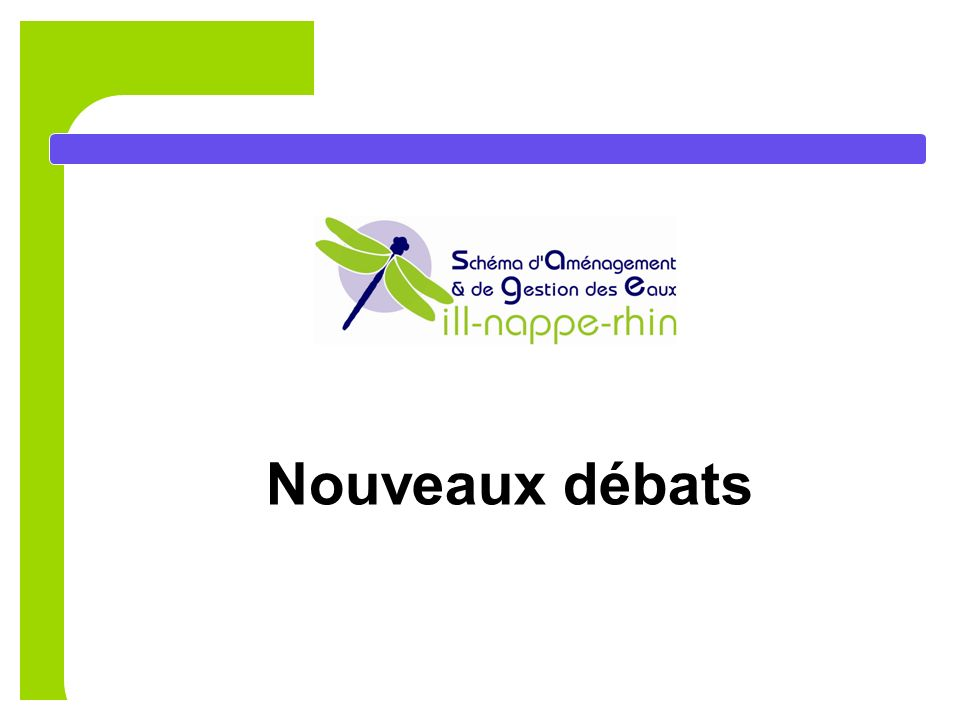 Nouveaux débats