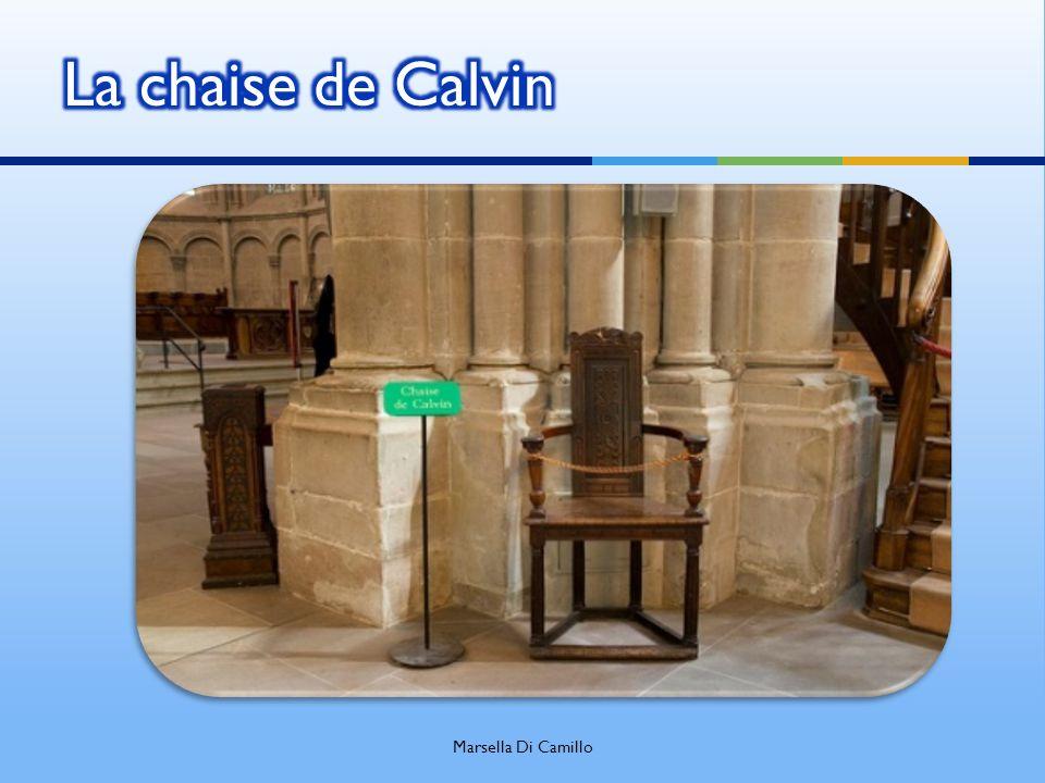La chaise de Calvin Marsella Di Camillo