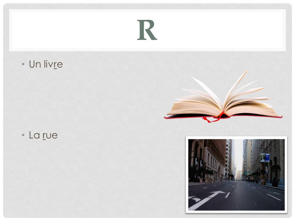 R Un livre La rue