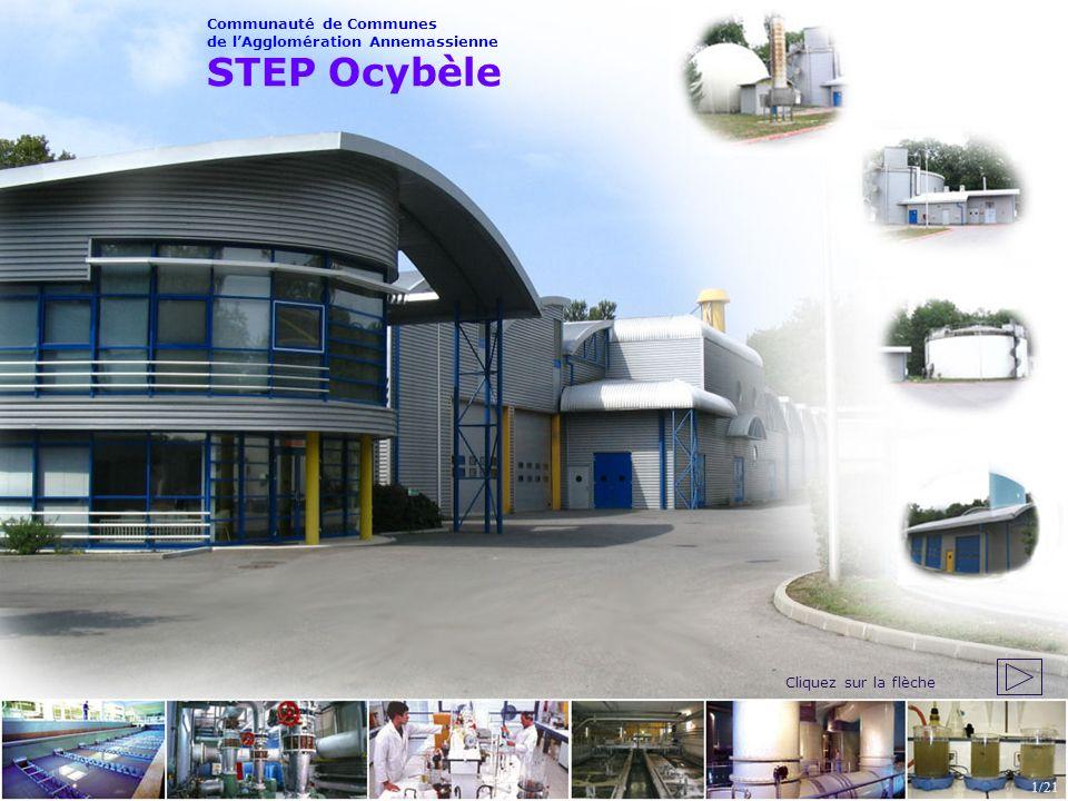 STEP Ocybèle Communauté de Communes de l'Agglomération Annemassienne