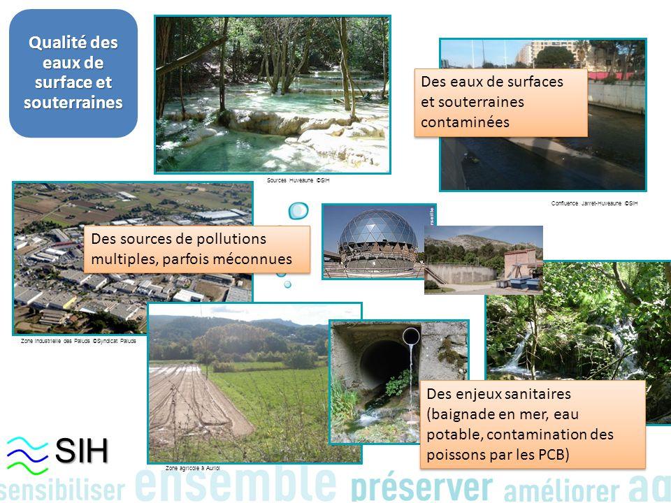 Qualité des eaux de surface et souterraines