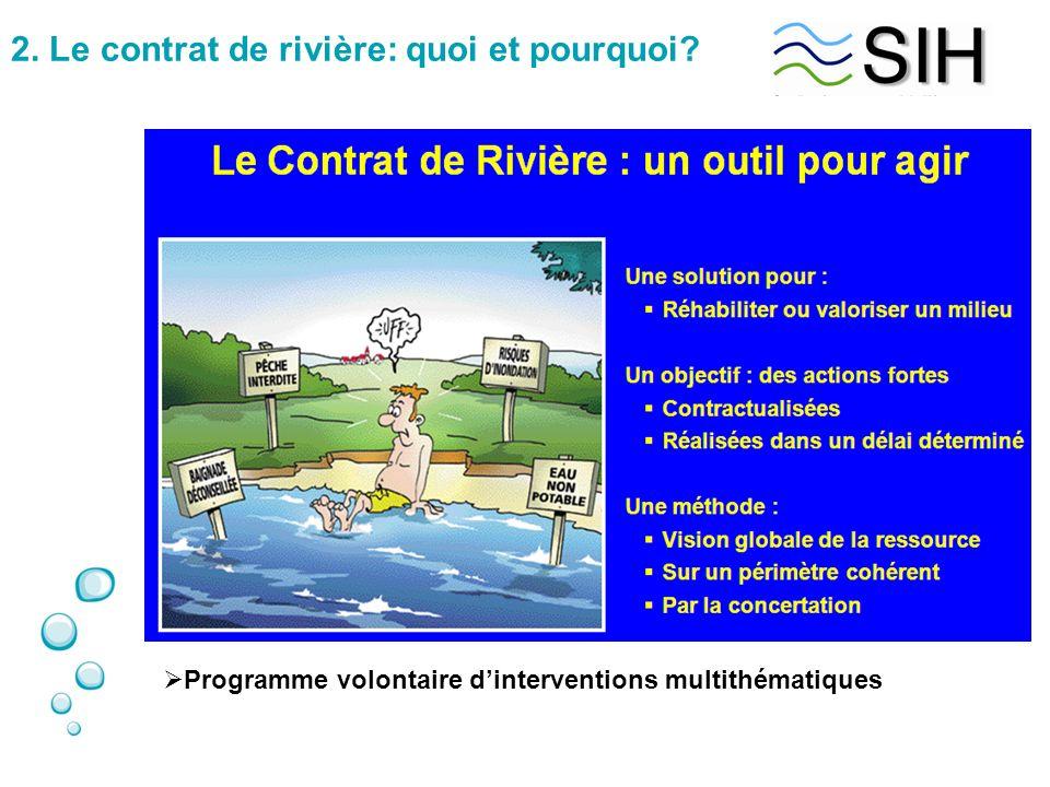 2. Le contrat de rivière: quoi et pourquoi