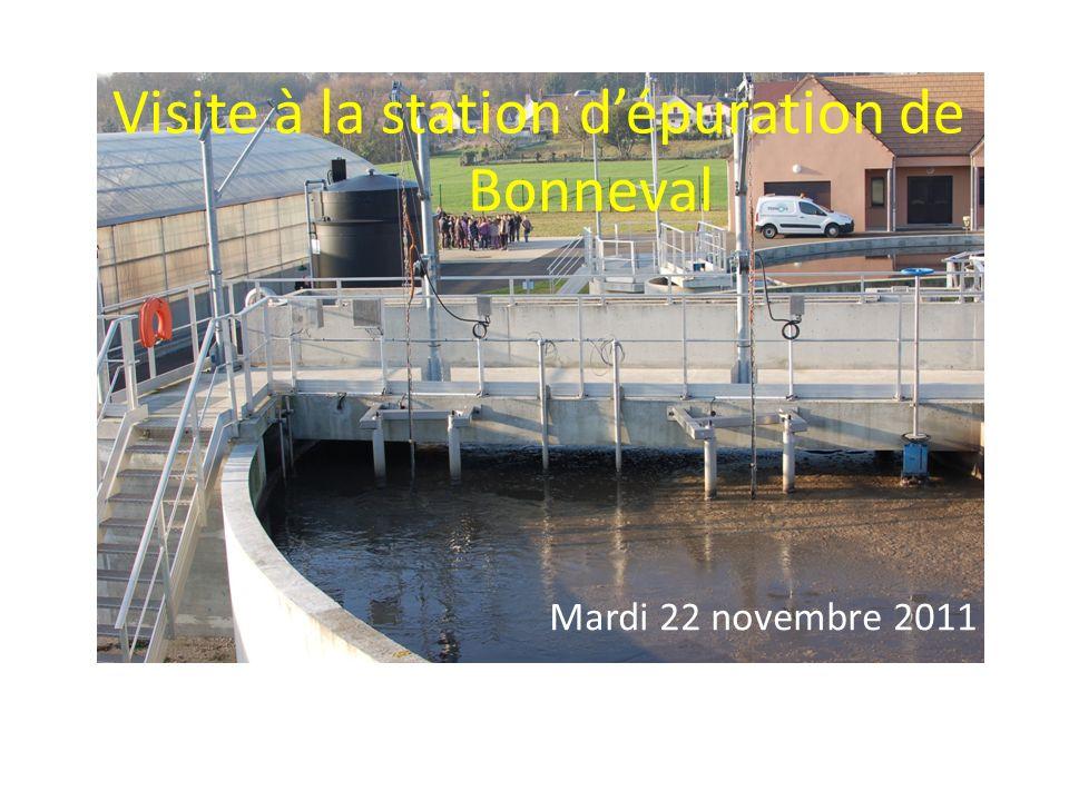 Visite à la station d'épuration de Bonneval