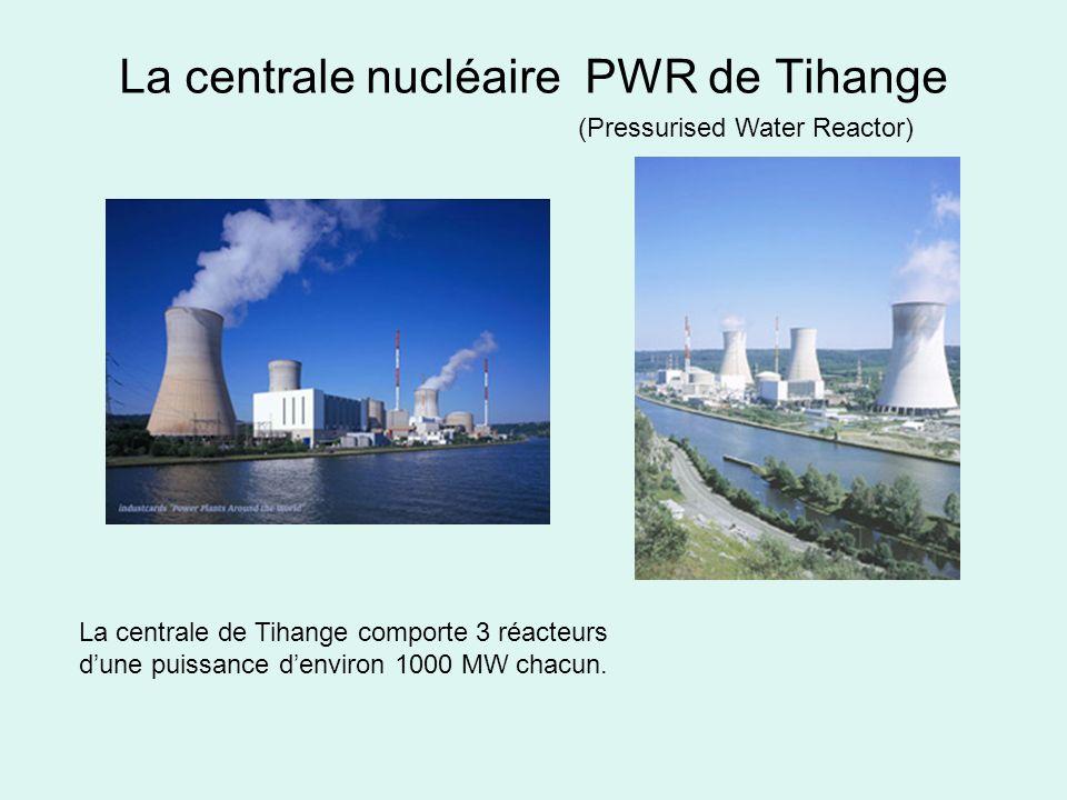 La centrale nucléaire PWR de Tihange