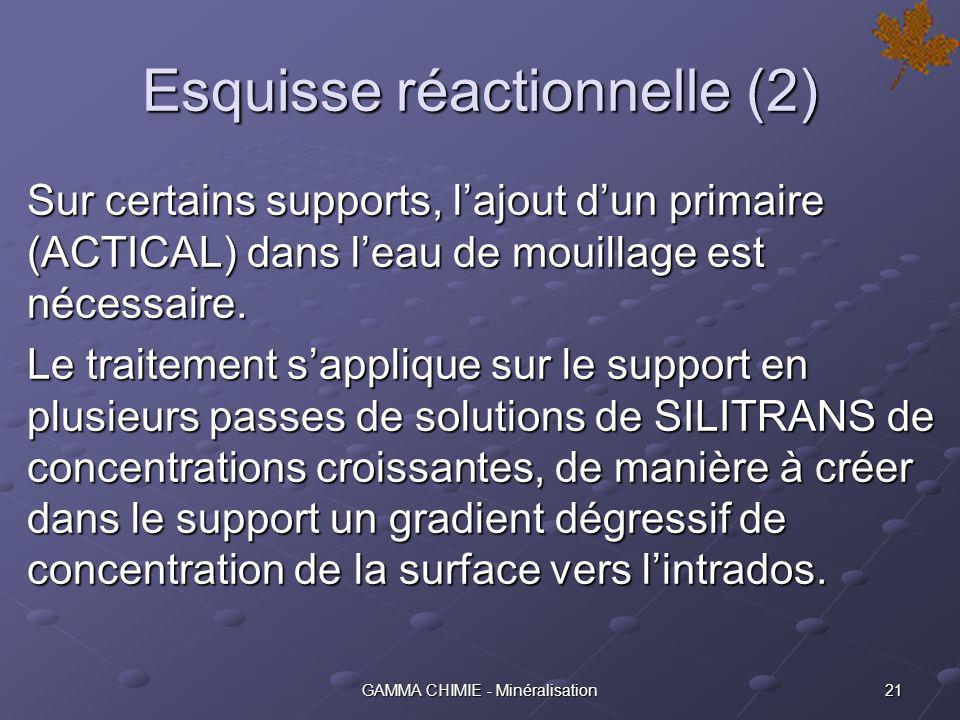 Esquisse réactionnelle (2)