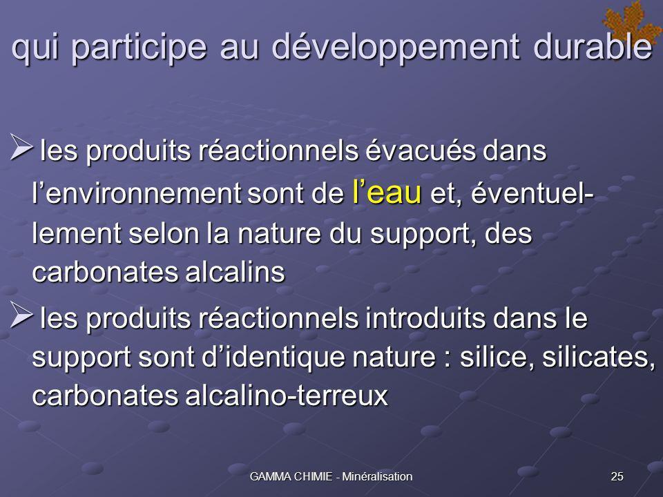 qui participe au développement durable