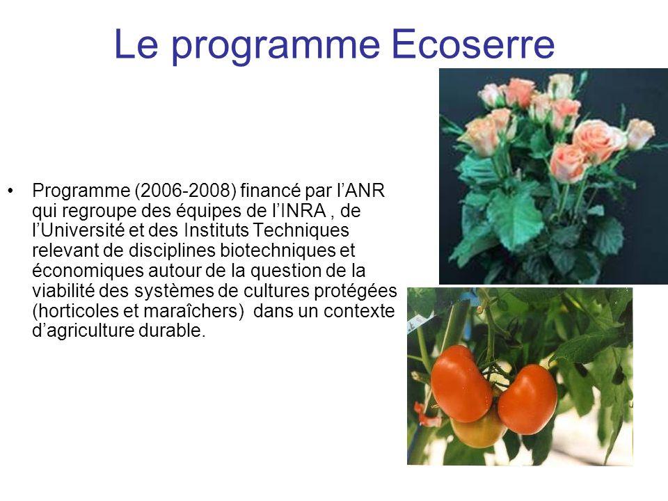 Le programme Ecoserre