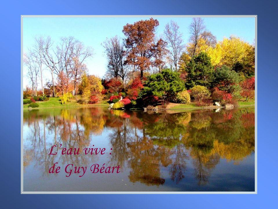 L'eau vive : de Guy Béart