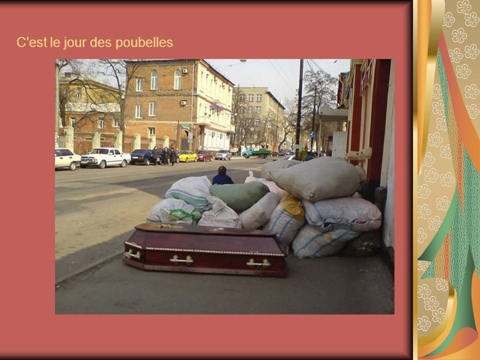 C est le jour des poubelles