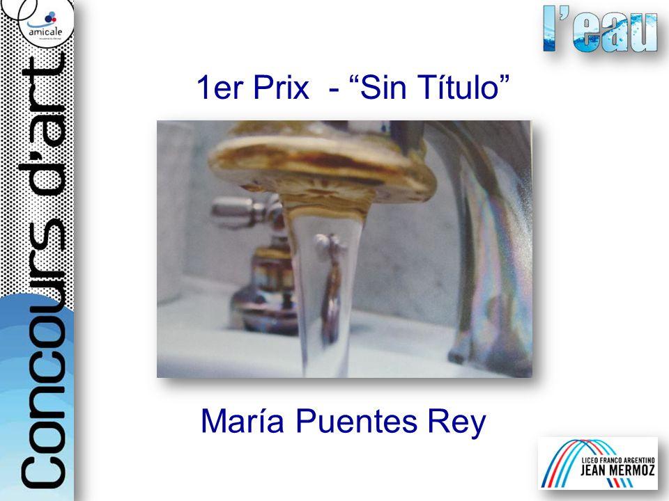 1er Prix - Sin Título María Puentes Rey